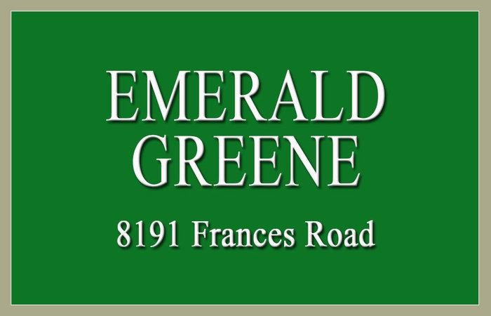 Emerald Greene 8191 FRANCIS V6Y 1A5