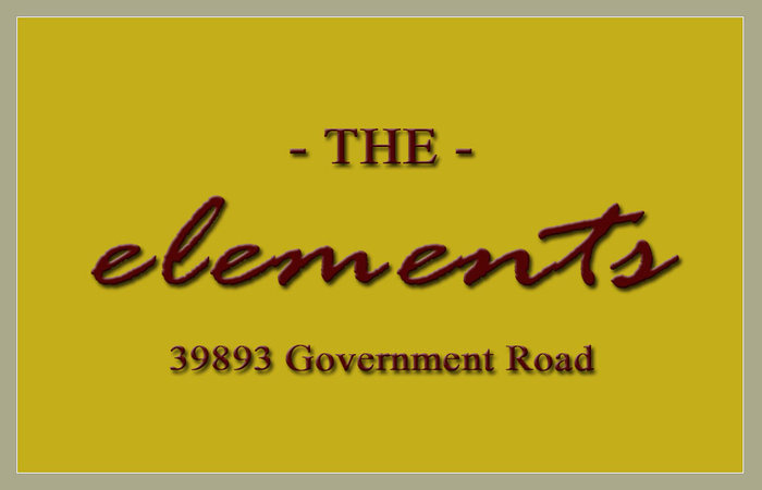 The Elements 39893 GOVERNMENT V8B 0G7