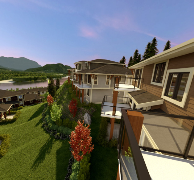 Seasons At Cedar Sky  -Rendering!