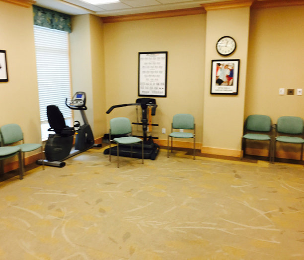 Physiotherapy Room!