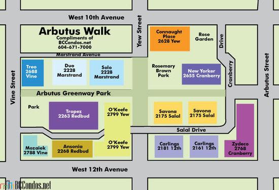Arbutus Walk