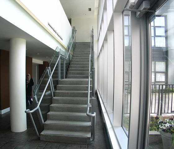 Stairs To 2nd Floor Exercise Area!