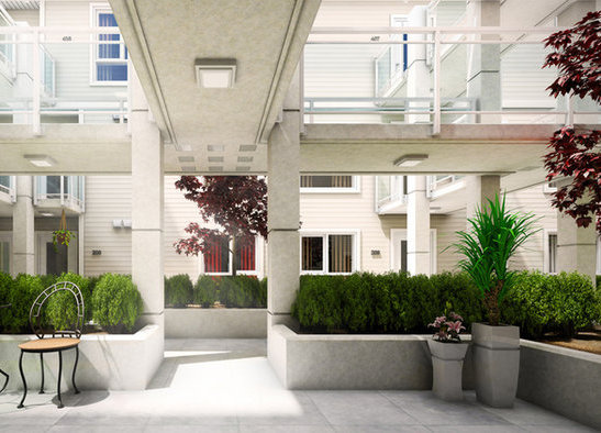 Courtyard Rendering!