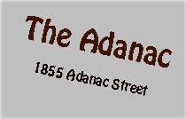The Adanac 1855 ADANAC V5L 2E1