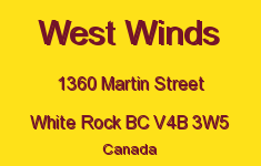West Winds 1360 MARTIN V4B 3W5