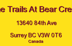 The Trails At Bear Creek 13640 84TH V3W 0T6