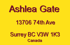 Ashlea Gate 13706 74TH V3W 1K3