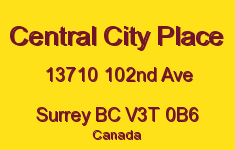 Central City Place 13710 102ND V3T 0B6