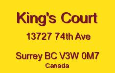 King's Court 13727 74TH V3W 0M7
