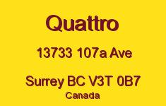 Quattro 13733 107A V3T 0B7