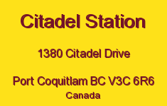Citadel Station 1380 CITADEL V3C 6R6