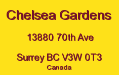 Chelsea Gardens 13880 70TH V3W 7V7