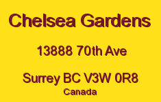 Chelsea Gardens 13888 70TH V3W 0R8