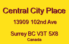 Central City Place 13909 102ND V3T 5X8