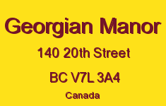Georgian Manor 140 20TH V7L 3A4
