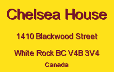 Chelsea House 1410 BLACKWOOD V4B 3V4