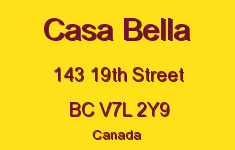 Casa Bella 143 19TH V7L 2Y9
