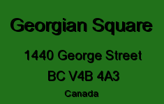 Georgian Square 1440 GEORGE V4B 4A3