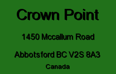 Crown Point 1450 MCCALLUM V2S 8A3