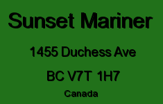 Sunset Mariner 1455 DUCHESS V7T 1H7