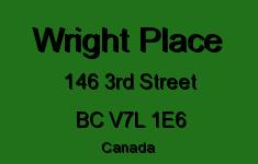 Wright Place 146 3RD V7L 1E6