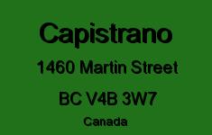 Capistrano 1460 MARTIN V4B 3W7