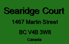 Searidge Court 1467 MARTIN V4B 3W8