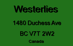 Westerlies 1480 DUCHESS V7T 2W2