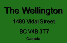 The Wellington 1480 VIDAL V4B 3T7