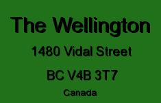 The Wellington 1480 VIDAL V4B 3T7