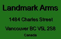 Landmark Arms 1484 CHARLES V5L 2S8