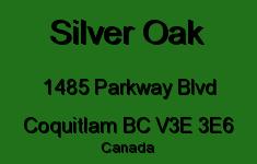 Silver Oak 1485 PARKWAY V3E 3E6