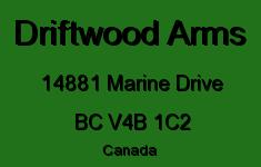 Driftwood Arms 14881 MARINE V4B 1C2