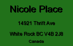 Nicole Place 14921 THRIFT V4B 2J8