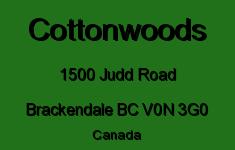 Cottonwoods 1500 JUDD V0N 1H0