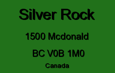 Silver Rock 1500 MCDONALD V0B 1M0