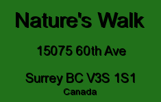 Nature's Walk 15075 60TH V3S 1S1