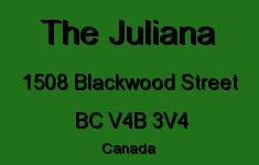 The Juliana 1508 BLACKWOOD V4B 3V4