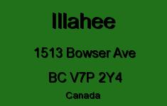 Illahee 1513 BOWSER V7P 2Y4