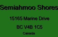Semiahmoo Shores 15165 MARINE V4B 1C5