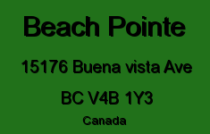 Beach Pointe 15176 BUENA VISTA V4B 1Y3