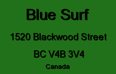 Blue Surf 1520 BLACKWOOD V4B 3V4