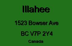 Illahee 1523 BOWSER V7P 2Y4