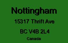 Nottingham 15317 THRIFT V4B 2L4