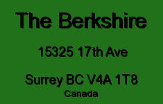 The Berkshire 15325 17TH V4A 1T8