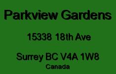 Parkview Gardens 15338 18TH V4A 1W8
