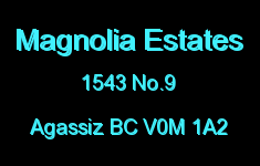 Magnolia Estates 1543 NO.9 V0M 1A2