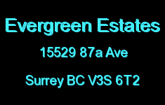 Evergreen Estates 15529 87A V3S 6T2