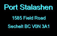 Port Stalashen 1585 FIELD V0N 3A1