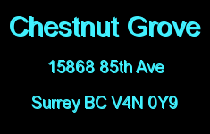 Chestnut Grove 15868 85TH V4N 0Y9